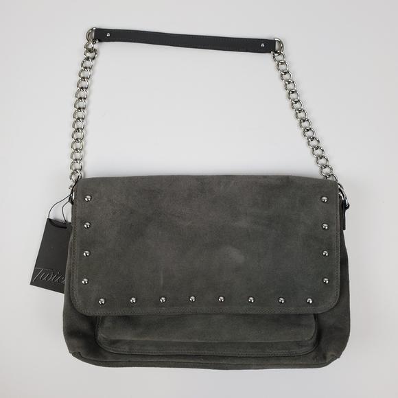 Talbots Handbags - NWT Talbots Suede Studded Purse